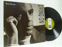 KENI STEVENS living on the edge (1st uk press) LP EX-/EX-, DBLP 505, vinyl, soul