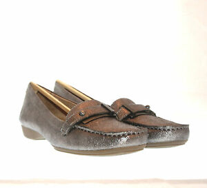 Naturalizer Gisella Pewter Loafers Women's Size US 7.5 Narrow