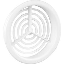 NEW Single Round Soffit Vent White Each, 70mm diameter, roofing, roof, DIY X4