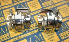 1961-1964 GM Convertible Top Latch Handle Locks. Chrome Plated New Pair