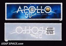 NEW APOLLO 50 NEXT GIANT LEAP - OFFICIAL ORIGINAL AB Emblem NASA SPACE PATCH