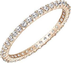 Swarovski Vittore Rose Gold Size 7 Ring 5095327