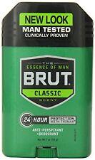 4 Pack - BRUT Anti-Perspirant Deodorant Stick Classic Scent 2 oz Each
