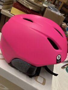 * Giro launch mips snow helmet matte pink disco birds small