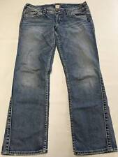 Womens SILVER Light Wash FRANCES Cropped Crop Jeans Sz 29