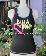75% OFF! AUTH BILLABONG WOMEN'S RASHGUARD MUSCLE TANK MEDIUM BNEW US$ 29+