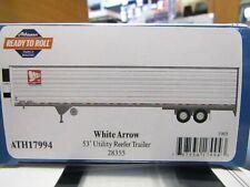 ATHEARN 17994 HO  WHITE ARROW   53FT UTILITY REEFER TRAILER # 28355