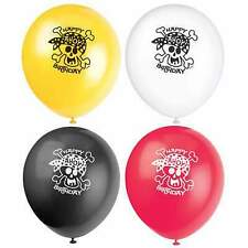 """Pirate Fun Party Birthday  12"""" Helium/Air  Latex Balloons, Pack of 8"""