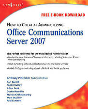 How to Cheat at Administering Office Communications Server 2007-ExLibrary