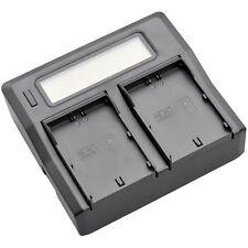 LCD Quick Battery Charger for JVC SSL-JVC50 JVC70 JVC75 LC-2J GY-HM600 GY-HM650