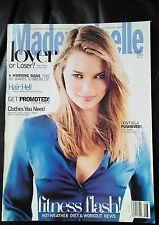 Mademoiselle Magazine Vintage August 1995 Kate Moss cover
