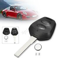 2 tasti telecomando chiave Shell caso W / batteria per 911 996 Porsche Boxster S
