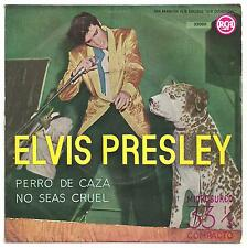 Elvis Presley - Hound dog/Don't be cruel Compact 33 single - Spain.