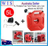 5L Portable Fuel Tank Plastic Jerry Can Diesel Motorcycle Gas Spare Container