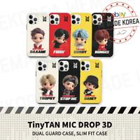 BTS TinyTAN MIC DROP 3D Slim Fit Cellphone Case Cover Authentic K-POP Goods