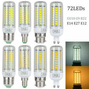 220V 5730SMD LED Corn Glühbirnenlampe E12 E14 E27 G9 B22 25W 15W 9W 7W