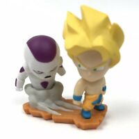 Dragon Ball Z Goku Frieza Gashapon Figure Bandai Megahouse DBZ License Ur Rare