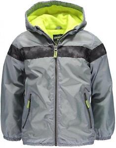 Osh Kosh B'gosh Infant Boys Grey Fleece Lined Jacket Size 12M 18M 24M