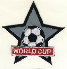 Reflective World Cup Football Soccer Embroidery Patch