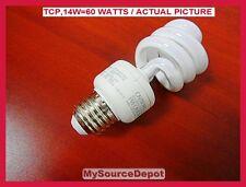 Tcp,14W=60 Watts,80101435,Base E26, 900 Lumens,120Volt,10,000 Hours