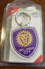 PREMIUM ACRYLIC KEY RING.Orlando City MLS. WINCRAFT.