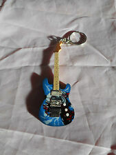 Iron Maiden 10cm Wooden Guitar Key Chain