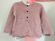 Lovely Baby Girls Collin Colline Vertbaudet Knitted Style Cardigan 18m🎀