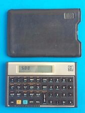 Hewlett Packard Hp 12C Financial Calculator with Case Usa Tested Working