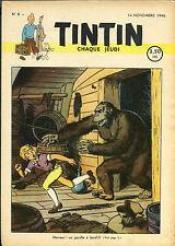 TINTIN   N° 8      du   14 novembre   1946