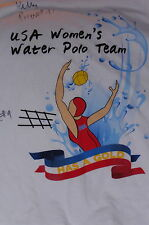 """US Water Women's Polo Team - Signed"" T-Shirt Unique Olympic Item(XL)"