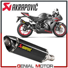 Exhaust Carbon Approved Muffler Akrapovic for Suzuki GSX-R 1000 2017 > 2018