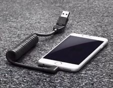 GENUINE Porsche USB Apple Lightning iPhone Car Charger Cable #97004490150