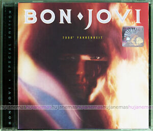 BON JOVI 7800 Fahrenheit MALAYSIA SPECIAL Edition CD + TOUR ACCESS CARD RARE NEW
