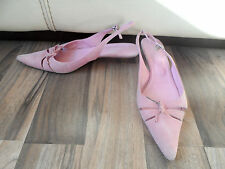 L.K. Bennett Suede Kitten Mid Heel (1.5-3 in.) Women's Shoes