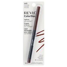 Revlon ColorStay Lipliner with SoftFlex, Chocolate [645] 0.01 oz (Pack of 2)