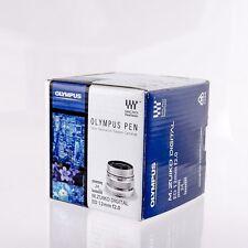 New Olympus M.Zuiko Digital ED 12mm f/2.0 Lens Silver