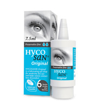 2X Hycosan Original Preservative Free Lubricating Eye Drops - 7.5ml