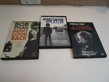 3 Bob Dylan DVDS: Don/t Look Back (07) No Direct...(05) The Home Movies (02)