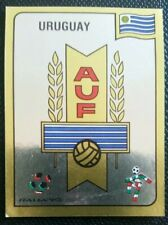 1990 PANINI ITALIA 90 ORIGINAL UNUSED URUGUAY  BADGE STICKER #363