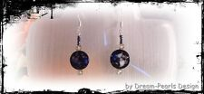♥ Dream-Pearls Design Ohrringe Perlmutt scharz silber ♥ OH071
