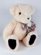 "GUND Vintage 1992 Victorias Secret Pink Teddy Bear Plush Stuffed Animal 15"""