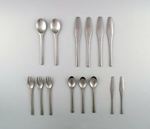 Jens Quistgaard Odin Cutlery for Danish Designs, stainless steel.