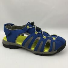 Clarks Collection Womens Sandals Size 8M Blue And Yellow-  Hiking