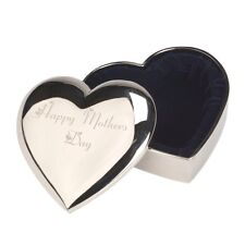 ENGRAVED HEART TRINKET BOX MOTHERS DAY PRESENT GIFT!