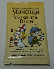 Steve Jackson Games: Munchkin Marked for Death Expansion Pack  New + bonus