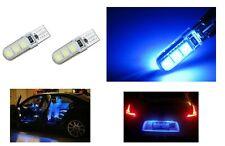 2 LUCI DI POSIZIONE CANBUS 6 LED BLU T10 lampadina auto 12V no errore lampada