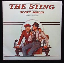 THE STING 1973 Orig movie soundtrack vinyl LP Paul Newman Robert Redford Shaw