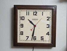 Vintage Hammond Synchronous Wall Clock