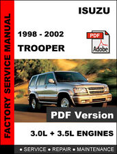 automotive pdf manual ebay stores rh ebay com 2002 isuzu rodeo owners manual pdf isuzu rodeo owners manual download