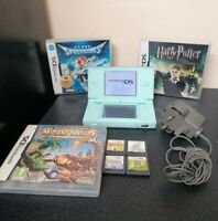 Nintendo DS Lite Handheld Console for Kids/Children + 7 Games & Official Charger